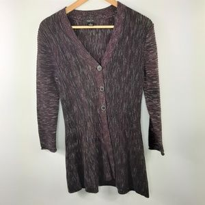Style & co. Fit & Flare 3/4 Sleeve Long Cardigan S